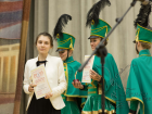 Мажоретки и барабанщицы на награждениии номинантов форума Здравница-2015
