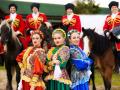 Казачий ансамбль на праздник в Москве