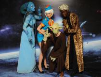 Шоу пришельцев на праздник