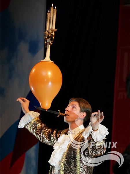 Оригинальное шоу на праздник Москва