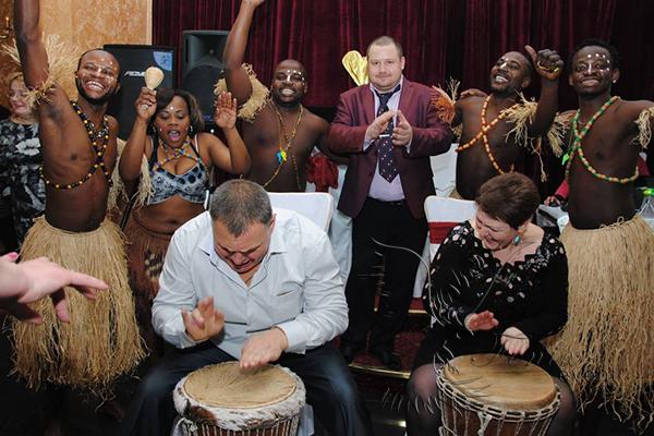 Музыкальный барабанный тимбилдинг в Москве