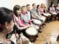 Музыкальный тимбилдинг на барабанах в Москве