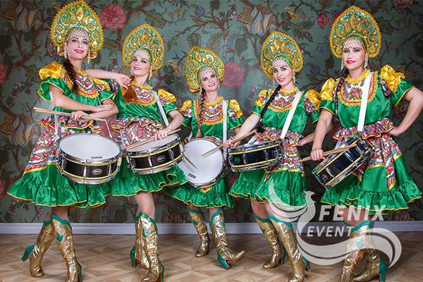 Шоу барабанщиц на мероприятие Москва