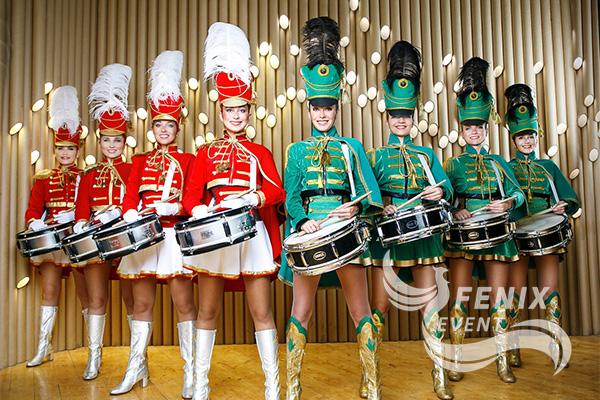 Заказать шоу барабанщиц Москва