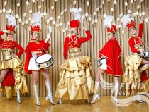 Ансамбль барабанщиц Москва