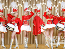 Ансамбль барабанщиц на праздник, свадьбу, корпоратив Москва