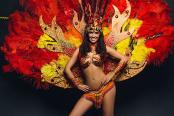 Бразильское шоу на праздник Москва