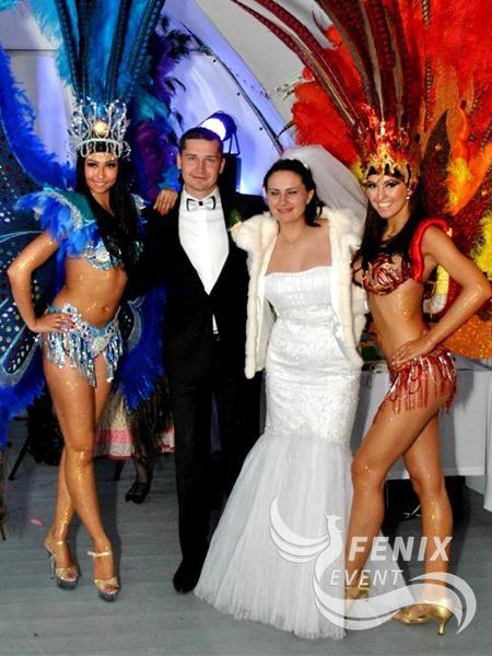 Заказать бразильские танцы на свадьбу Москва