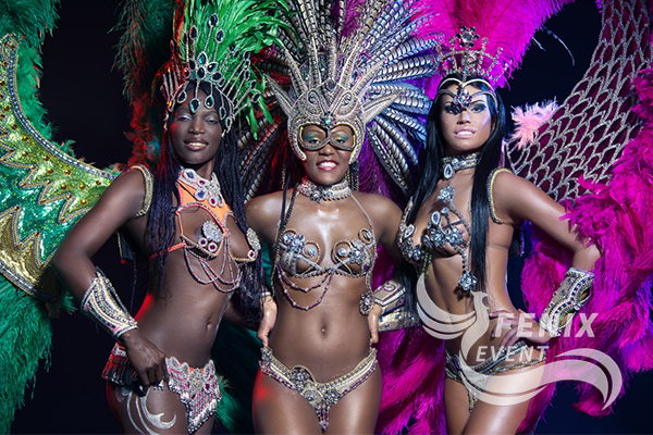 Бразильский карнавал на свадьбу, праздник, корпоратив Москва