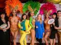 Бразильское шоу на юбилей Москва