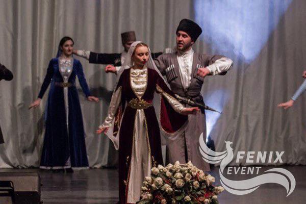 Ансамбль кавказских танцев на мероприятие Москва