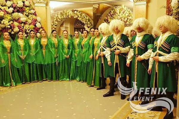 Ансамбль кавказских танцев на праздник недорого Москва