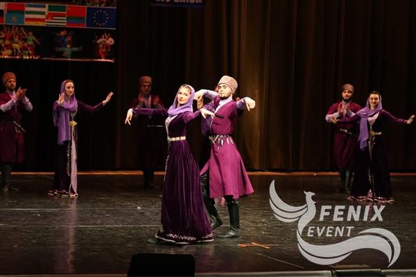Чеченский ансамбль кавказского танца Москва