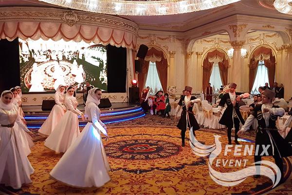 Заказать кавказский танец лезгинку на праздник, свадьбу и юбилей Москва