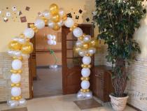 Арка из воздушных шаров на детский праздник