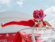 Заказать шоу девушка в бокале на праздник, корпоратив, юбилей Москва
