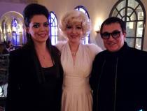 Двойник Мэрилин Монро на праздник в Москве