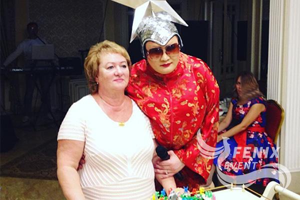 Двойник Сердючки на свадьбу, праздник, корпоратив заказать Москва