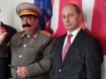 Двойник Сталина и Путина Москва