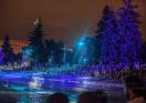 Шоу на Выпускной в парке Горького 2015