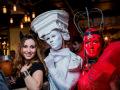 Артисты в велком зону на Хэллоуин Москва