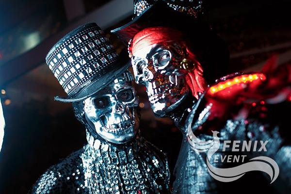 Фрики на хэллоуин Москва