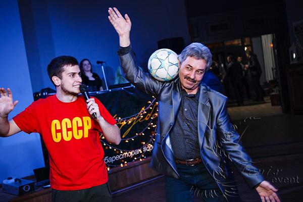 Футбольный фристайл на юбилей Москва