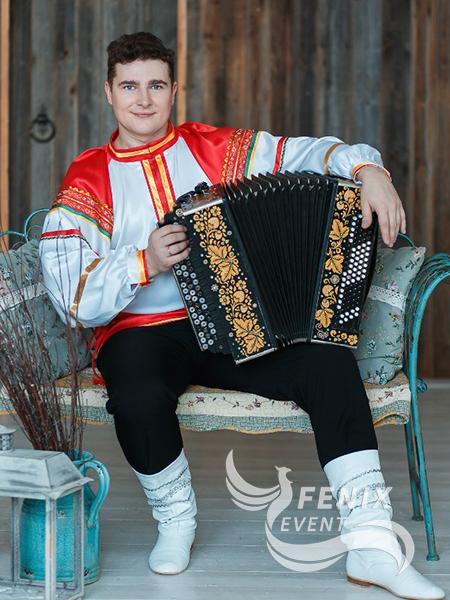 Заказать гармониста на юбилей Москва