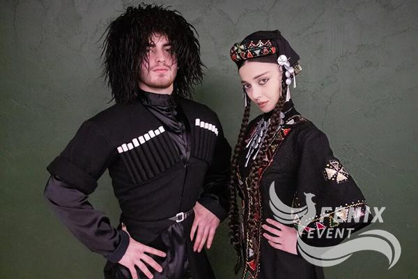 Яркие грузинские танцоры на свадьбу, корпоратив, юбилей Москва.
