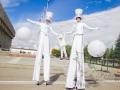 Ходулисты на праздник в Москве