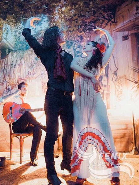 Испанское шоу фламенко на праздник Москва