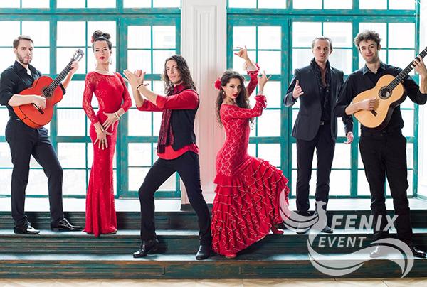 Испанское шоу фламенко на праздник, свадьбу, корпоратив Москва