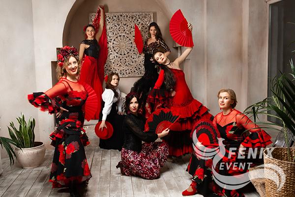Заказать испанское фламенко на праздник Москва