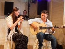 Испанский гитарист в стиле фламенко на праздник в Москве