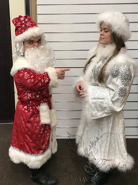 Дед мороз карлик на праздник в Москве