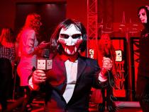 Карлик на Хэллоуин в Москве