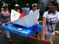 Картонный тимбилдинг мастер-класс в Москве поделки из картона