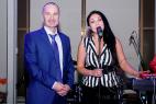 Музыкальная кавер-группа в Москве. На Церемонии награждения почётных граждан стран Таможенного союза 13 декабря 2015.