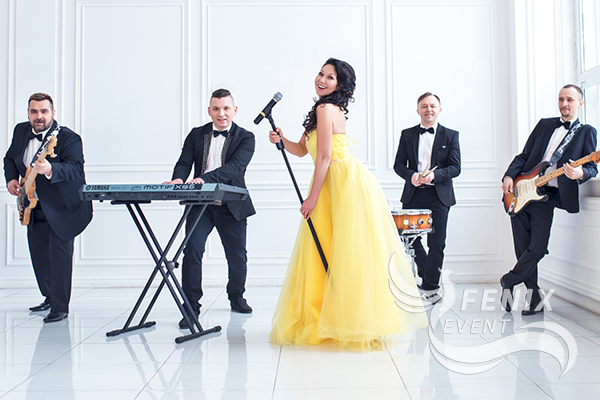 Кавер группа на праздник, свадьбу, юбилей Москва.