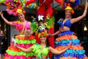 Кубинское шоу в Москве на праздник