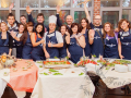 Организовать кулинарный мастер класс тимбилдинг Москва