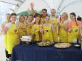 Кулинарный мастер-класс  тимбилдинг в Москве