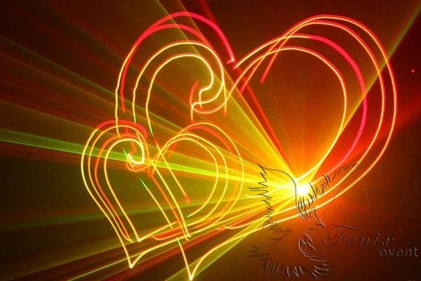 Заказать лазерное шоу на свадьбу, юбилей, корпоратив Москва