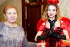 Леди-фуршет в Москве на церемонии награждения почётных граждан стран Таможенного союза 13.12.2015.