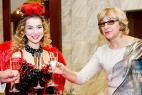 Леди-фуршет в велком зону. Церемония награждения почётных граждан стран Таможенного союза 13 декабря 2015 в Москве.
