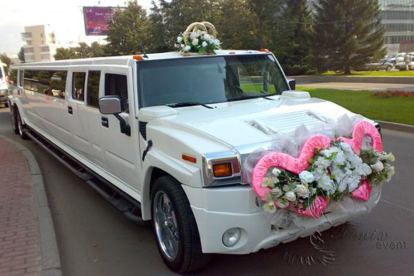 Заказ машины на свадьбу недорого москва