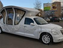 Лимузин-карета на свадьбу Москва