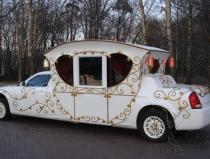 Лимузин-карета на свадьбу
