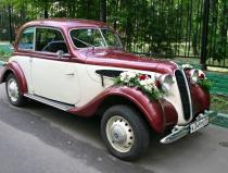 Ретро машины на свадьбу