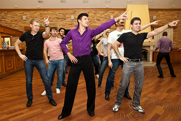 Мастер класс по командным танцам Москва